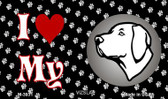 I Love My Vizsla Wholesale Magnet M-3931