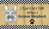 German Shepard Pencil Sketch Wholesale Magnet M-1703