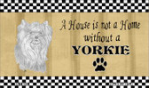 Yorkie Pencil Sketch Wholesale Magnet M-1706
