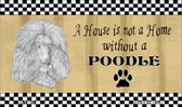 Poodle Pencil Sketch Wholesale Magnet M-1710