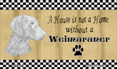 Weimaraner Pencil Sketch Wholesale Magnet M-1720
