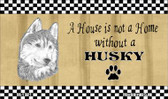 Husky Pencil Sketch Wholesale Magnet M-1721