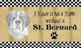 St. Bernard Pencil Sketch Wholesale Magnet M-1723
