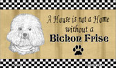 Bichon Frise Pencil Sketch Wholesale Magnet M-1726