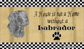 Labrador Pencil Sketch Wholesale Magnet M-1702