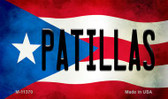 Patillas Puerto Rico State Flag Wholesale Magnet M-11370