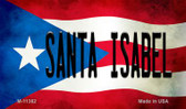 Santa Isabel Puerto Rico State Flag Wholesale Magnet M-11382