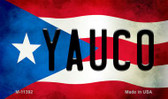Yauco Puerto Rico State Flag Wholesale Magnet M-11392