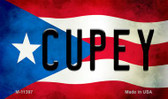 Cupey Puerto Rico State Flag Wholesale Magnet M-11397