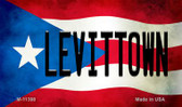 Levittown Puerto Rico State Flag Wholesale Magnet M-11398