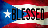 Blessed Puerto Rico State Flag Wholesale Magnet M-11406
