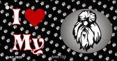 I Love My Shih Tzu Wholesale Key Chain KC-3929