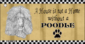 Poodle Pencil Sketch Wholesale Key Chain KC-1710