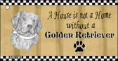 Golden Retriever Pencil Sketch Wholesale Key Chain KC-1711