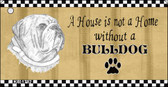 Bulldog Pencil Sketch Wholesale Key Chain KC-1712