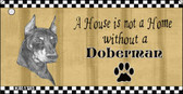 Doberman Pencil Sketch Wholesale Key Chain KC-1715