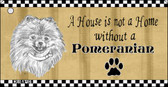 Pomeranian Pencil Sketch Wholesale Key Chain KC-1716