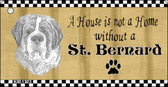 St. Bernard Pencil Sketch Wholesale Key Chain KC-1723