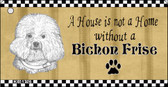 Bichon Frise Pencil Sketch Wholesale Key Chain KC-1726