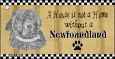Newfoundland Pencil Sketch Wholesale Key Chain KC-1729