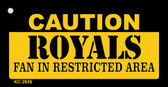 Caution Royals Fan Area Wholesale Key Chain