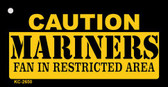 Caution Mariners Fan Area Wholesale Key Chain