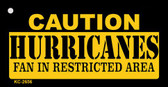 Caution Hurricanes Fan Area Wholesale Key Chain