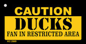 Caution Ducks Fan Area Wholesale Key Chain