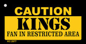 Caution Kings Fan Area Wholesale Key Chain