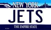 Jets New York State License Plate Wholesale Magnet M-2053