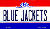 Blue Jackets Ohio State License Plate Wholesale Magnet M-2294
