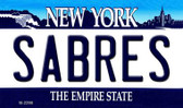 Sabres New York State License Plate Wholesale Magnet M-2298
