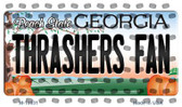 Thrashers Fan Georgia State License Plate Wholesale Magnet M-10831