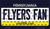 Flyers Fan Pennsylvania State License Plate Wholesale Magnet M-10838