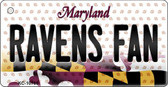 Ravens Fan Maryland State License Plate Wholesale Key Chain KC-10765