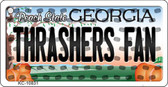 Thrashers Fan Georgia State License Plate Wholesale Key Chain KC-10831