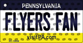 Flyers Fan Pennsylvania State License Plate Wholesale Key Chain KC-10838