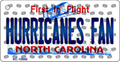 Hurricanes Fan North Carolina State License Plate Wholesale Key Chain KC-10840