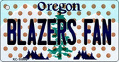 Blazers Fan Oregon State License Plate Wholesale Key Chain KC-10872