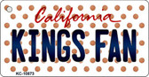 Kings Fan California State License Plate Wholesale Key Chain KC-10873
