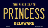 Princess Delaware State License Plate Wholesale Magnet M-6728