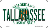 Tallahassee Florida State License Plate Wholesale Magnet M-6012