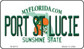 Port St Lucie Florida State License Plate Wholesale Magnet M-6015