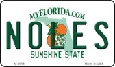 Noles Florida State License Plate Wholesale Magnet M-6019