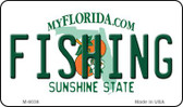 Fishing Florida State License Plate Wholesale Magnet M-6036