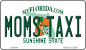 Moms Taxi Florida State License Plate Wholesale Magnet M-6041