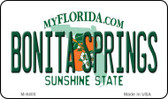 Bonita Springs Florida State License Plate Wholesale Magnet M-8400