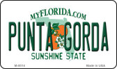 Punta Gorda Florida State License Plate Wholesale Magnet M-8514