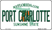 Port Charlotte Florida State License Plate Wholesale Magnet M-11023