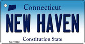New Haven Connecticut State License Plate Wholesale Key Chain KC-10892
